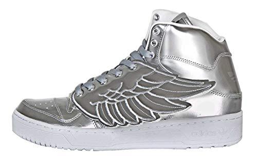 Adidas Jeremy Scott Wings Metal para Hombre en Color Plateado metálico, (Plateado metálico/Plateado metálico.), 42.5 EU