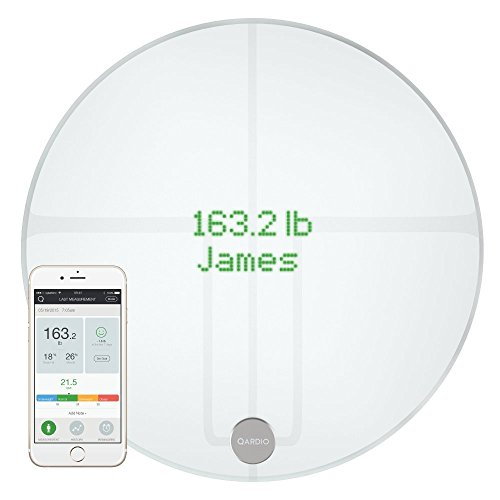 Qardiobase 2 wireless Smart scale e corpo analizzatore – Arctic White