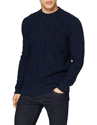 ESPRIT Herren 100EE2I319 Pullover, 404/NAVY 5, XXL