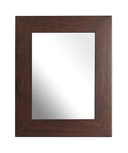 Inov8 Inov8 Brits gemaakte traditionele spiegel, boomgaard donker eiken, 8x6 inch (20x15cm), hout, 30.48 x 30.48 x 3 cm