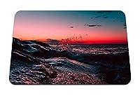 26cmx21cm マウスパッド (海サーフサンセットスカイライン空アズブリーパークアメリカ合衆国) パターンカスタムの マウスパッド