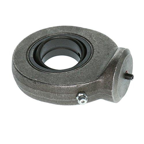 10mm - 35mm Stangenende Kugelgelenklager für Metallumformung Werkzeugmaschinen, Maschinenbau - GK30DO Schwarzes Silber