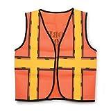 Darice Crafts AC 193267 Kids Construction Vest, Orange/Yellow