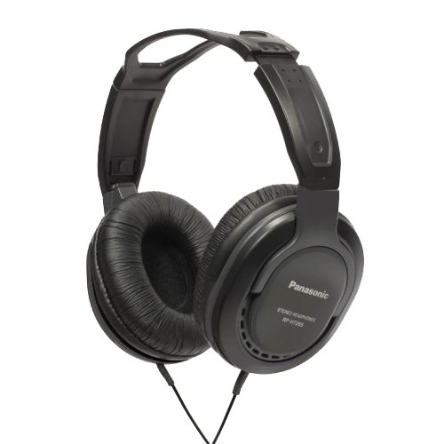 petit un compact Casque Panasonic RP-HT265E-K, contrôle de volume fermé noir (importé au Royaume-Uni)