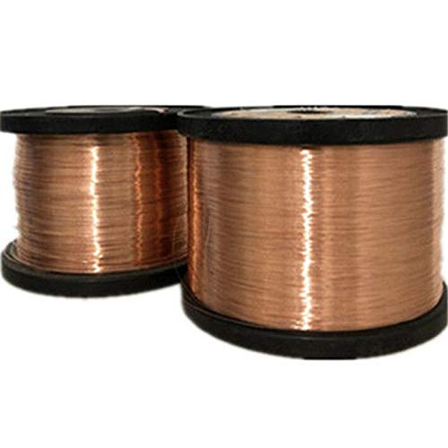 Qa-1-155 Alambre de cobre esmaltado de alambre de cobre magnético bobinado de alta temperatura 1000 g, 0,5 mm., 1