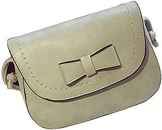 RONSHIN Women Summer Bowknot Mini Square Bag Mobile Phone Single Shoulder Slant Bag