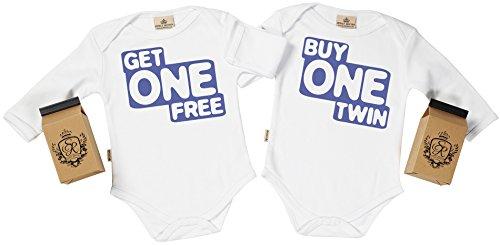 SR - Estuche de presentación - Buy One Twin, Get One Free Body Gemelos bebé - Ropa para Gemelos...