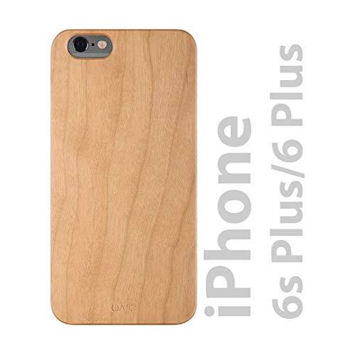 iATO iPhone 6s Plus / 6 Plus Wood Case. Real Cherry iPhone 6s Plus / 6 Plus Case Wood. Minimalistic Classic Wood iPhone 6s Plus / 6 Plus Case