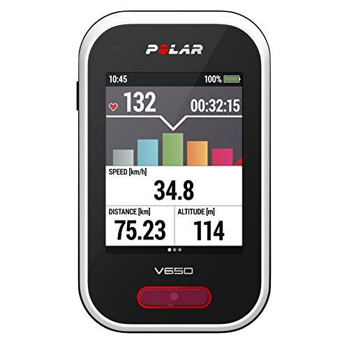 Polar V650, Computer da Bicicletta con GPS Integrato,...