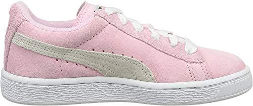 Puma Unisex-Kinder Suede Jr Low-Top, Pink, 39 EU