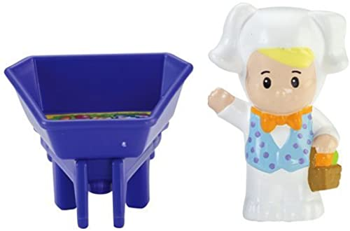 tienda de descuento Fisher-price Fisher-price Little People People People Eddie & Wheelbarrow  Envío y cambio gratis.