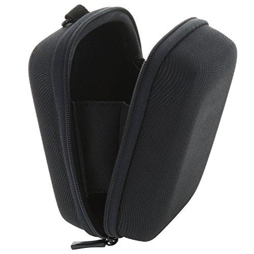 Kameratasche Hardcase Kompaktkamera S-Thick 2.0 Tasche kompatibel mit Canon PowerShot G9 X - Sony DSC HX90 HX95 HX99 RX100 I II III IV V - schwarz