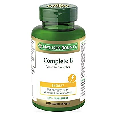 Nature's Bounty Complete B Vitamin Complex Caplets - Pack of 100