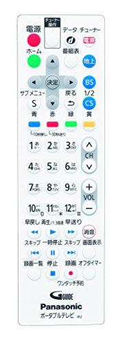 『パナソニック 10V型 液晶 テレビ プライベート・ビエラ UN-10E6-W 2017年モデル』の6枚目の画像