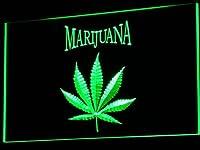 LED看板 ネオンプレート サイン 電飾・店舗看板・標識・サイン カフェ バー ADV PRO j049-g Marijuana High Life Hemp Leaf Bar NEW Light Sign