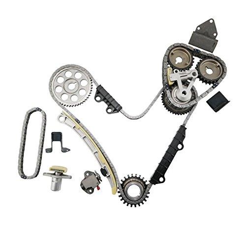 MOCA Timing Chain Kit for 2001-2004 Chevrolet Tracker & 2001-2006 Suzuki Grand Vitara XL7 2.5L 2.7L V6 H25A H27A