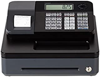 Casio PCR-T273 Electronic Cash Register - works on 120 V, 50/60Hz supply & needs memory backup batteries