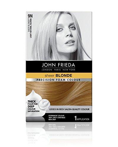 Price comparison product image John Frieda Precision Foam Permanent Hair Colour in 9N Light Natural Blonde
