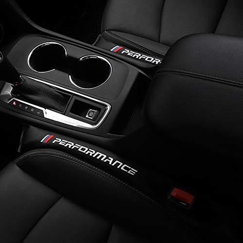 2 piezas de asiento de coche, relleno de espacio, almohadilla espacial de cuero artificial de la PU para BMW E46 E39 E90 E60 F20 F21 F22 F30 F33 X1 X2 X3 X4 X5 X6 M3 M4 M1 M2 Accesorios interiores