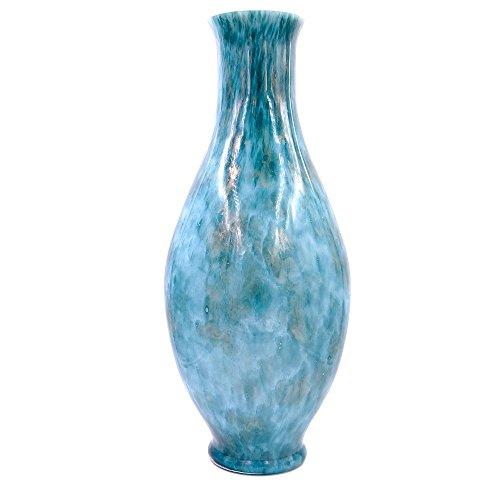 Tammaro Home Mod/èle Vagues Vase en Verre de Murano Couleur Miel