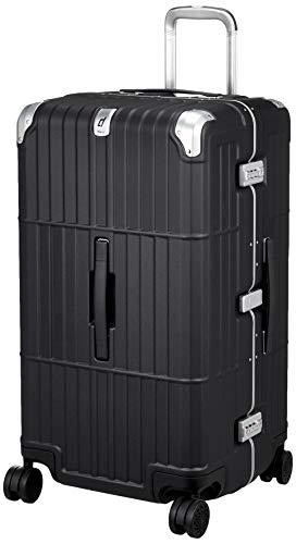 [エー・エル・アイ] スーツケース departure ハードキャリー 保証付 101L 5.7kg レザーマットブラック