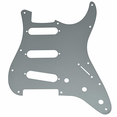 Dopro ST Strat SSS - Golpeador de guitarra (11 agujeros, aluminio, para...