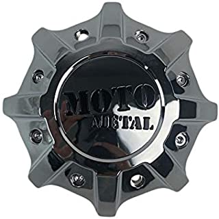 Moto Metal MO986 MO9988 T142L215-H48-C1 Chrome Center Cap for +0 to Negative Offsets