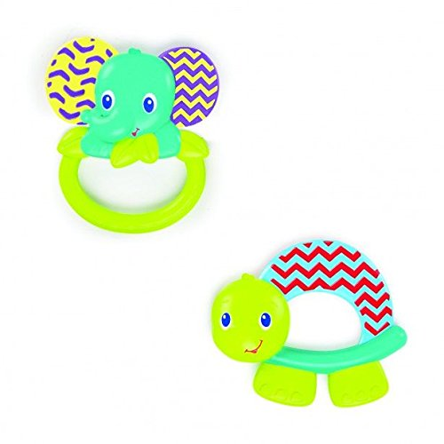 Discover Bargain Bright Starts Teether, Flexi-Zoo