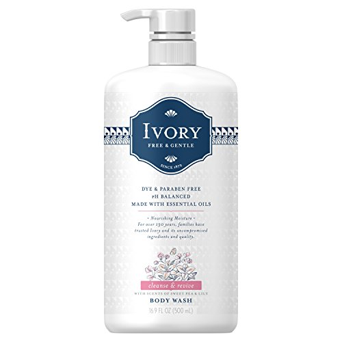 Ivory Free & Gentle Cleanse & Revive Body Wash, Sweet Pea/Lily