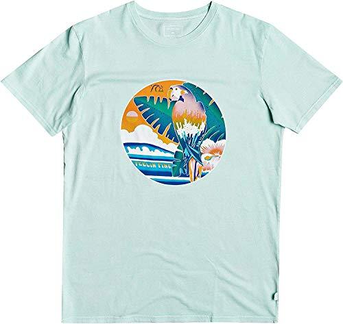 Quiksilver - Camiseta - Hombre - S - Verde