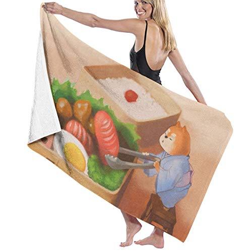 Lowest Price! Shiba Inu Japanese Dog Sushi Themed Party Pattern Printed Beach Blanket Mat Pool Bath ...