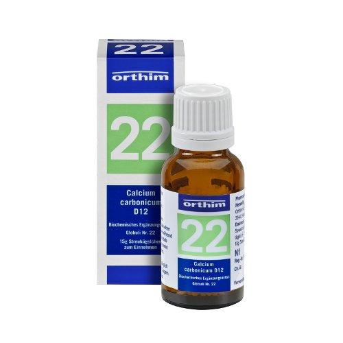 Schuessler Globuli Nr. 22 - Calcium carbonicum D12 - gluten- und laktosefrei