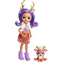 Enchantimals Muñeca con mascota Danessa Deer (Mattel FNH23)