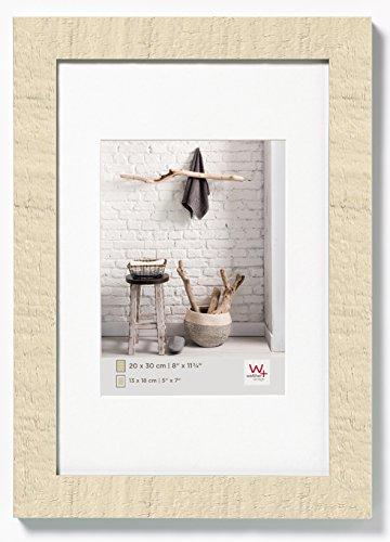 Walther Design HO015W Home Cornice, Legno, Bianco, 10 x 15 cm