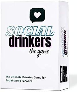 بازی نوشابه های اجتماعی - بازی کارت جدید و سرگرم کننده مهمانی برای طرفداران رسانه های اجتماعی. یک بازی عالی برای بازی های گروهی شب ، شب دختران ، تولد 21 سالگی ، مهمانی های لیسانس و هدایا