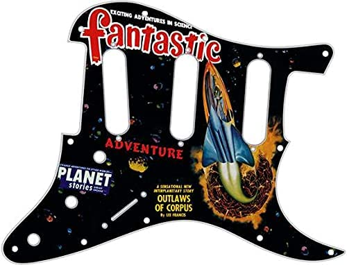 Custom Graphical Pickguard to fit Fender Ho HENDRIX Strat 11 Max 61% Super sale period limited OFF SSS