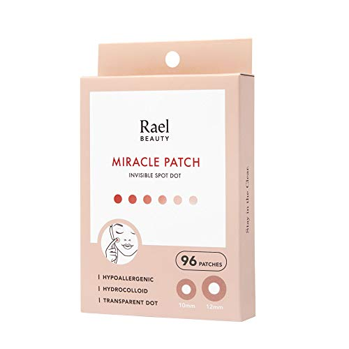 Rael Acne Pimple Healing Patch - Absorbing Cover, Invisible, Blemish...