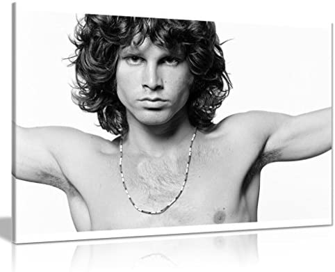 Jim Morrison Music Canvas Wall Art Picture Print 30x20in product image