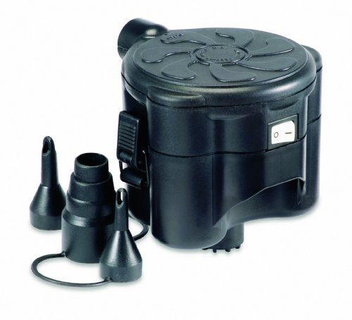 Gelert Luftbettpumpe 4d Electric, black, FPS026300