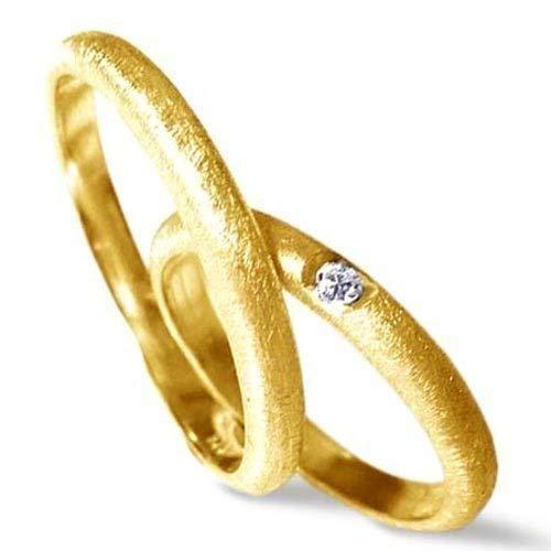 Eheringe BRILLANT GOLD 750 - Trauringe Gelbgold Hochzeit Diamant - handgefertigt by SILVERLOUNGE