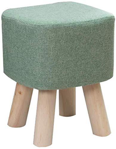 hsj LF- Banco para el hogar Holzhocker pequeño taburete moderno creativo pequeño taburete redondo cómodo (color: B)