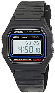 Casio Men's Watch in Resin/Acrylic Glass with Digital Display Microlight and Daily Alarm - Water Resistant (B000HZT48M) | Amazon price tracker / tracking, Amazon price history charts, Amazon price watches, Amazon price drop alerts