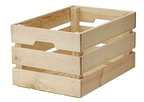 Ikea knagglig Buzón maciza Pino 46x 31x 25cm