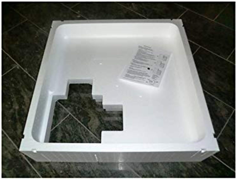 Universal Duschwannentrger Wannentrger Styroportrger für Duschwanne 100 x 100 cm superflach Hhe Trger 14 cm