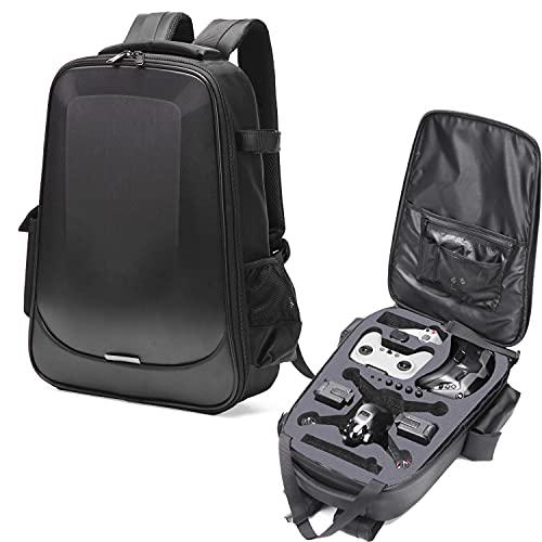 MAXPAND DJI FPV Hard Case Backpack Waterproof and Shockproof DJI FPV Drone Bag FPV System Case for DJI Drone, Goggles V2, Remote Controller 2, and Accessories FPV Backpack with YKK Zipper