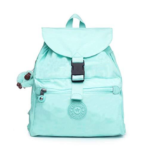 Kipling womens Keeper Medium Backpack, fresh teal tonal, One Size