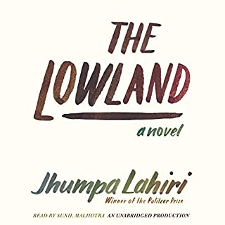 The Lowland audiobook cover art