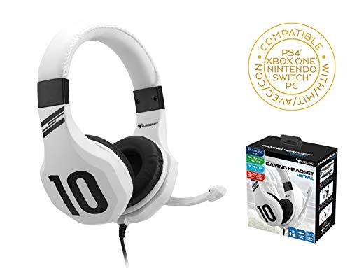 Subsonic - Cuffie da Gioco per PS4/ Xbox One/ PC/ Switch (Solo Fortnite) - Bianco - PlayStation 4