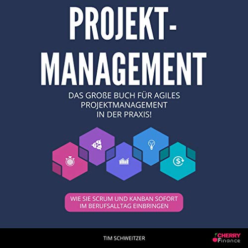Projektmanagement: Das große Buch für agiles Projektmanagement in der Praxis! [Project Management: The Big Book for Agile Project Management in Practice!] audiobook cover art