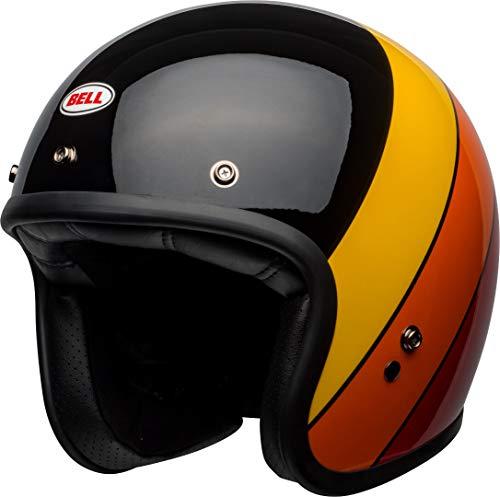 BELL Helmet Custom 500 Dlx Rif Black/Yellow/Orange/Red M